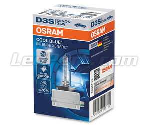 Xenon-lamp D3S Osram Xenarc Cool Intense Blue 6000K in de verpakking - 66340CBI