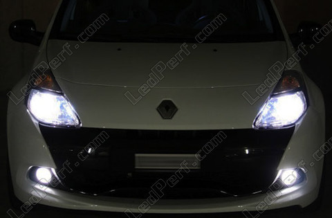 Lampen Diamond white op gas Xenon 5000K H8 Michiba