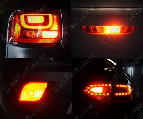 Set Achtermistlichten Met Leds Voor Toyota Aygo P21w W21w W16w