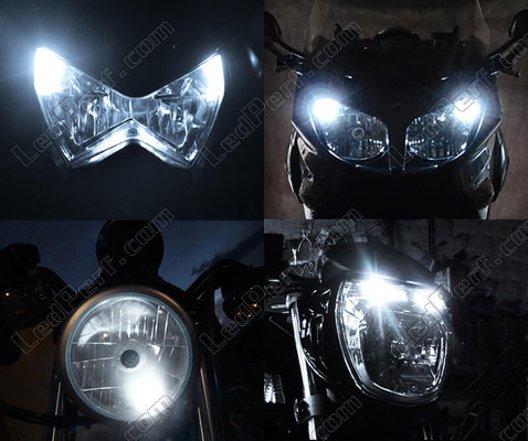 Led stadslichten wit Xenon Harley-Davidson Electra Glide Ultra Classic 1801 Tuning