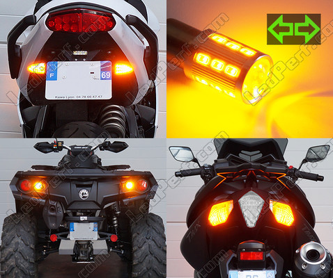 Led Knipperlichten achter Harley-Davidson Electra Glide Ultra Classic 1801 Tuning