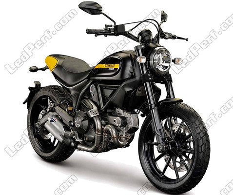 Motor Ducati Scrambler Full Throt (2015 - 2019)