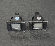 Set met 2 ledmodules nummerplaat achter Mercedes (type 1)