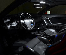 Set voor interieur luxe full leds (zuiver wit) voor Hyundai Coupe GK3