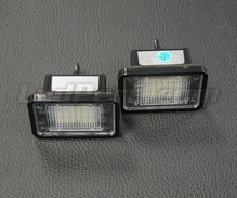 Set met 2 ledmodules nummerplaat achter Mercedes (type 6)