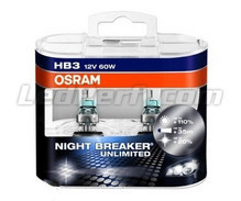 Set met 2 HB3 lampen Osram Night Breaker Unlimited
