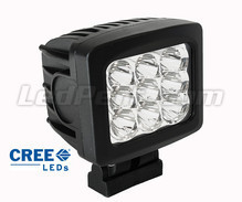 Extra Vierkant led-koplamp 90 W CREE voor 4X4 - Quad - SSV