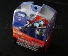 Set met 2 H13 lampen MTEC Super White - zuiver Wit