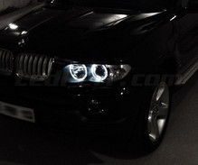 Ledset angel eyes voor de BMW X5 (E53) - MTEC V3