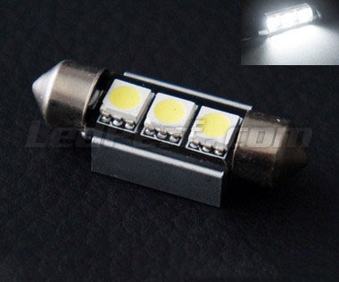 Soffittenlamp LED 37 mm LIFE - wit - Resistor boordcomputer - C5W