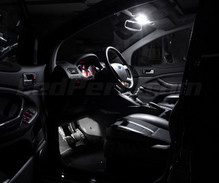 Set voor interieur luxe full leds (zuiver wit) voor Ford Kuga