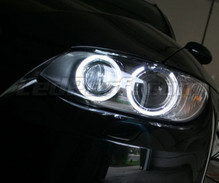 Set angel eyes H8 met leds (zuiver wit) voor BMW Serie 3 (E92 - E93) - MTEC V3.0