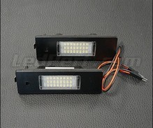 Set met 2 ledmodules nummerplaat achter BMW (type 2)