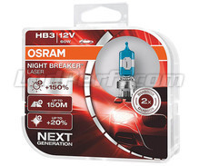 Set van 2 lampen HB3 Osram Night Breaker Laser +150% - 9005NL-HCB