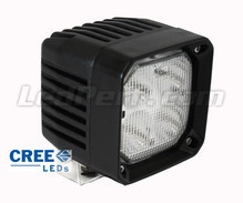 Extra Vierkant led-koplamp 40W CREE voor 4X4 - Quad - SSV