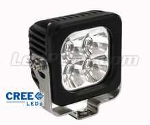 Extra Vierkant led-koplamp 40 W CREE voor 4X4 - Quad - SSV