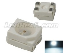 Led TL PLCC4 - Wit - 400mcd