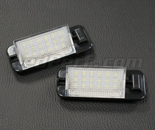 Set met 2 ledmodules nummerplaat achter BMW (type 6)