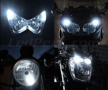 Set stadslichten met leds (wit Xenon) voor Harley-Davidson Night Train 1450