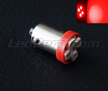 LED H6W - Fitting BAX9S - Rood - Efficacity