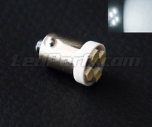 LED H6W - Fitting BAX9S - Wit - Efficacity