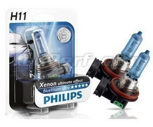 Set van 2 koplampen H11 White Vision Philips