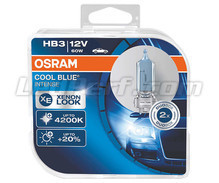 Set met 2 HB3 lampen Osram Cool Blue Intense - 9005CBI-HCB